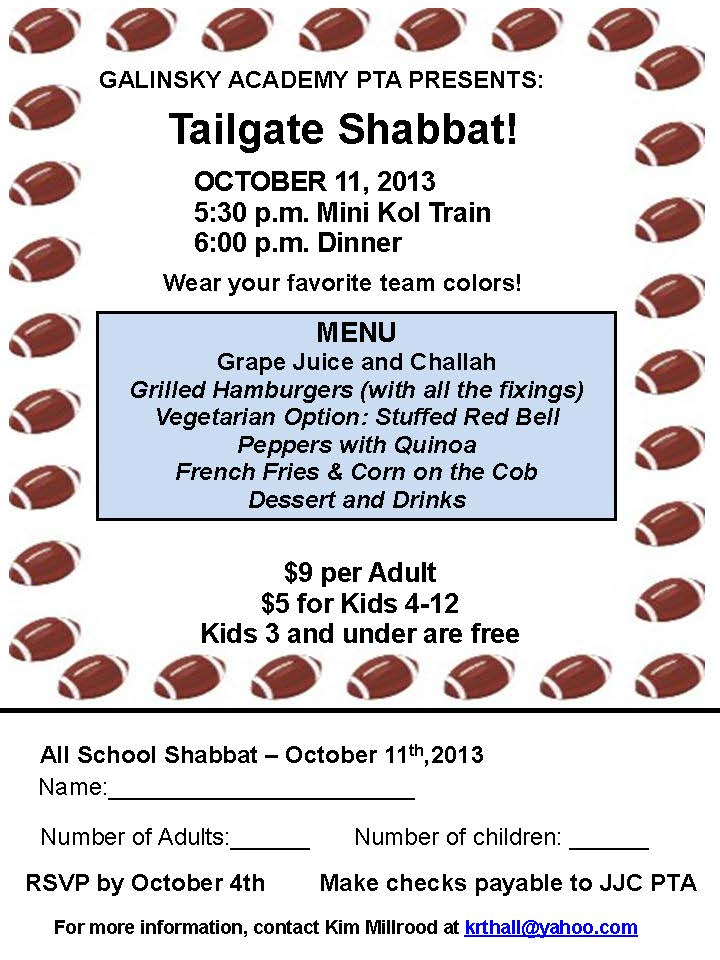 Oct11 Shabbat